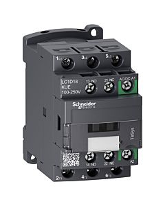 Schneider Electric TeSys D Green LC1D18KUE